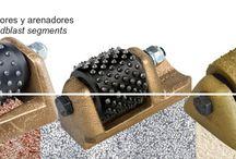 Abujardadores / Máquinaria, herramientas y segmentos para obtener un abjurado perfecto!