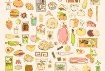 食べ物 イラスト