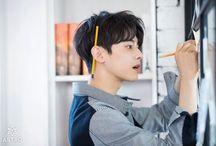 「 Eunwoo 」 / Astro's Lee Dongmin ( Cha Eunwoo ) angel.