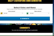 Diggy`s Adventure hack generator