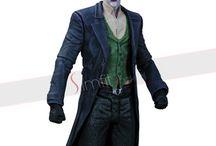 Batman Joker Cosplay Costume / Batman Arkham Origins Joker Cosplay Costume.