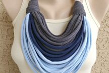Fabric neckless inspiration
