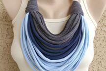 T-shirt yarn scarf ideas