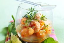 Cocktail de langoustine et melon
