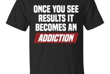 Fitness Decor Men's T-Shirts, Dry Fits, Tanks & Hoodies / Men's Motivational Fitness Gear