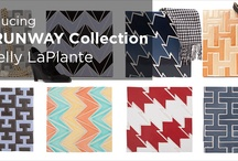Fireclay Tile Runway Collection / Inspired by fashion, designer Kelly LaPlante created a collection of tiles that celebrates some of the most classic elements in men and women's clothing from the tried-and-true houndstooth pattern, to the controversial corsets worn by generations of women. / by Fireclay Tile