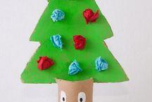 Weihnachtsgeschenk mit Klo Papier