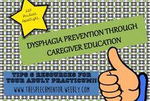 Dysphagia Handouts / Nursing Homes