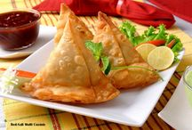 Delicious Samosa / Samosas are probably the most popular Indian Item