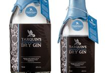 Tarquin's Handcrafted Cornish Gin  / A delicious craft gin distilled in tiny batches, using a flame-fired copper pot still. Inspired by north Cornwall. Each bottle is filled, labelled, waxed, stamped and signed by hand.   Infused with foraged Devon violet leaves from the garden, and fresh citrus zest.