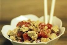 salade ( tofu )