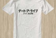 Date A Live Anime Tshirt
