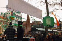 Verita's Visit to St. Patrick's Day Festival Hague 2015 / The Irish spirit was all around Grote Markt in Hague, last Sunday, 15 March 2015. Leprechauns, Guinness, Irish Dance, Irish folk, jummy food and lot's of green! #StPatrickFestival #The Hague #2015