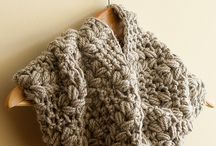 yarn cozy accessories / crochet and knit scarves, hats, shawls, mittens, and jewelry tutorials, patterns and inspiration.  / by Cara Eskins