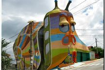My home is my castle! / The most unusual houses in the world.