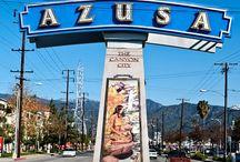 Azusa Canyon city