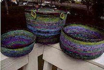 Tøjsnor kurve og tasker   Clothesline - Bowls & Baskets