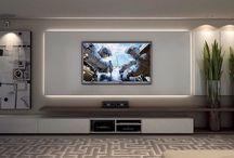 wall units tv