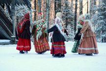 Kansallispuvut Venäjä