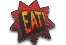 Descanso de Panela / Deixe qualquer refeição mais descontraída com descanso de panela, que além de proteger sua mesa de altas temperaturas, irá divertir todos os seus convidados.
