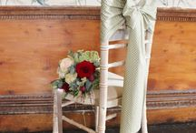 The Vintage Sash Company / Beautiful chair sashes for hire, www.thevintagesashcompany.co.uk
