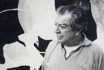 James Brooks (1906-1992) / James Brooks (18 Octobre, 1906-9 Mars, 1992) était un muraliste américain, peintre abstrait, et lauréat de la Médaille Logan des Arts.