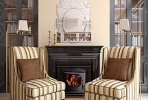 feature walls & fire places / by Catriona Hamilton