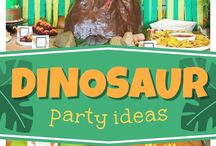 festa tema dinosauri