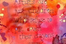 Artist. / Inspiring and Creating