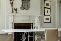 Classic Modern Style / Classic layout, modern contemporary furnishings, fabrics, flooring and colors.