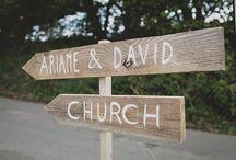 {wedding} signs