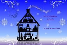 November 2015: Where Stories Begin / Home is where our stories begin. This holiday season, give the gift of helping kids understand how to organize and share the stories that bring their worlds to their families. Our November 2015 Box is a treasure box of story elements to celebrate each child's unique storytelling ideas and abilities. Targeting sequencing, story language, imagination, reasoning, pragmatics and more this is a charming way to prepare for the holidays.