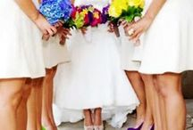 Wedding - Neon Rainbow / Colourful Wedding Ideas