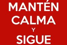 Spanish.....keep calm