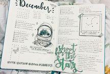 Planner - lettering & Bullet Journal