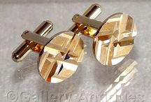 Vintage and antique cufflinks