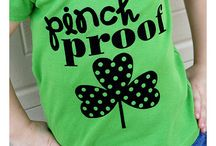 Ideas for St. Patty's Day / Need some inspiration for St. Patty's Day? We have plenty of four leaf clovers, leprechauns and green heat transfer ideas for you to make!