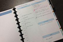 Planner/ Organiser Ideas