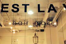 HairMakeC'ESTLAVIE / It is a beauty salon HairMakeC'ESTLAVIE in Yodogawa-ku, Osaka of Japan!