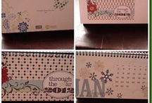 SU MDS / My Digital Studio projects. A digital scrapbooking program offered thru Stampin' Up!