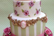 ´vintage birhtday cake