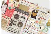 Monthly Paper Crafting Kits / Get your monthly paper fix with these monthly paper crafting kits.