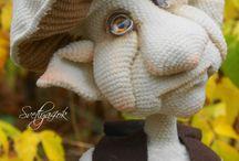 weird crochet stuff