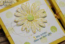 Stampin up Gänseblümchen Stanze