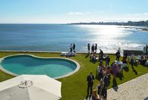 Oceanfront Wedding Portugal Cocktail Hour
