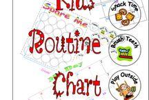 Chore & Cleaning Charts / by Kari