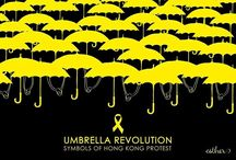 Logos of Umbrella Revolution