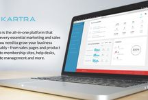 The Kartra Platform / This Board shows various features and functionalities of the Kartra all-in-one ecommerce platform. www.Kartra.com