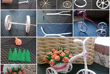 LEUKE  CREATIEVE DINGEN MAKKELIJK TE MAKEN / leuke creatieve  dingetjes die je in een handomdraai kan maken