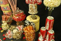 Night at the Movies Candy Buffet